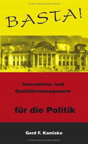 Basta !: Innovations- und Qualitätsmanagement für die: Kamiske, Gerd F.