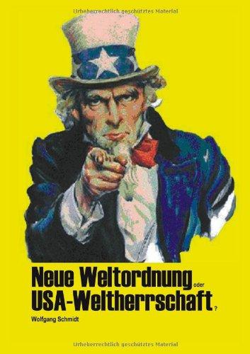 9783833416682: Neue Weltordnung oder USA-Weltherrschaft?