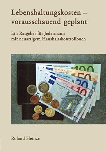 9783833421051: Lebenshaltungskosten - vorausschauend geplant (German Edition)