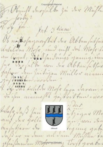 9783833478437: Abbensether Chronik (German Edition)