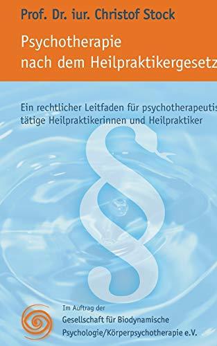 Psychotherapie Nach Heilpraktikergesetz