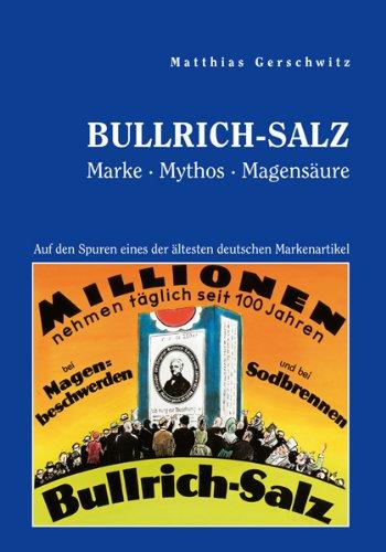 9783833482229: Bullrich-Salz - Marke Mythos Magensäure (German Edition)