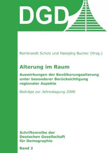 9783833489396: Alterung im Raum (German Edition)