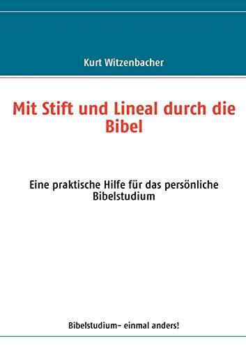 9783833495823: Mit Stift und Lineal durch die Bibel