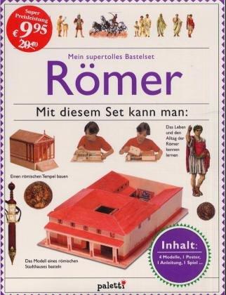 9783833601804: Mein supertolles Bastelset, Römer