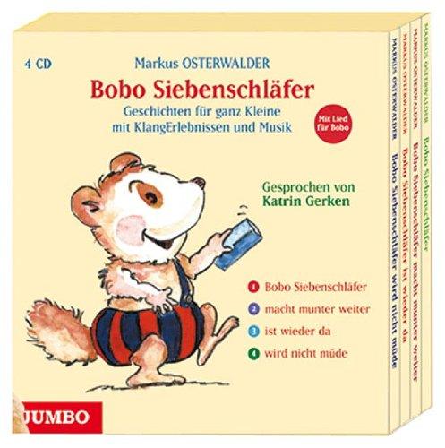 9783833700354: Bobo Siebenschläfer Plüschtier + Bobo Siebenschläfer Gesamtausgabe