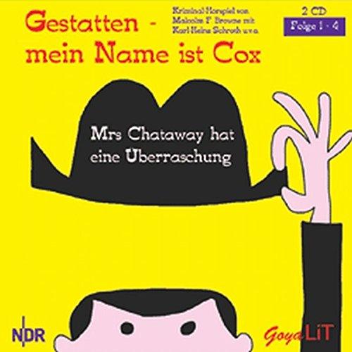 9783833710520: Gestatten-mein Name ist Cox, Folge 1-4: Mrs. Chataway hat eine Überraschung