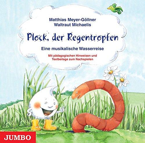 9783833711046: Plock, der Regentropfen. CD: Eine musikalische Wasserreise