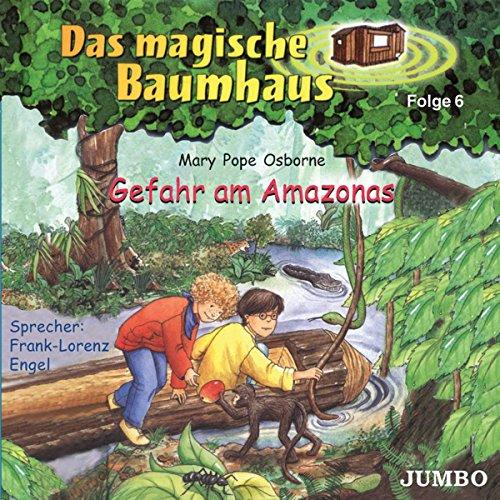 9783833712418: Das magische Baumhaus 06. Gefahr am Amazonas. CD