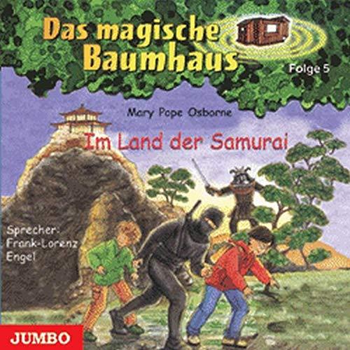 9783833712425: Das magische Baumhaus 05. Im Land der Samurai. Cassette