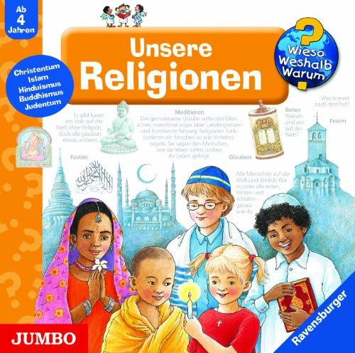 9783833713958: Wieso? Weshalb? Warum? Unsere Religionen. CD