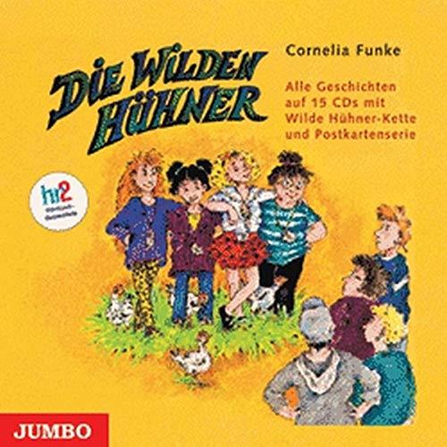 9783833715822: Die Wilden Hühner. 15 CDs: Alle Folgen im Schuber