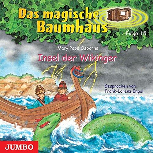 9783833716157: Das magische Baumhaus 15. Insel der Wikinger. CD