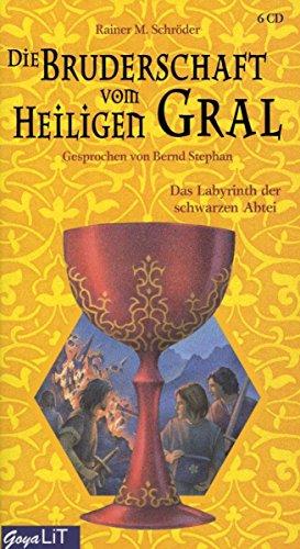 9783833721250: Die Bruderschaft vom Heiligen Gral - Das Labyrinth der schwarzen Abtei, 6 Audio-CDs