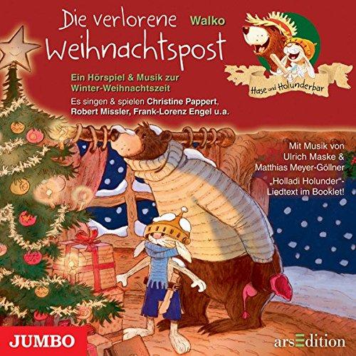 9783833724312: Hase und Holunderbar. Die verlorene Weihnachtspost