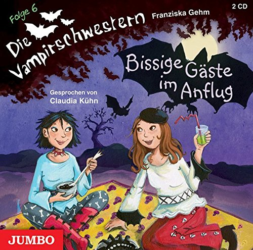 9783833725494: Die Vampirschwestern 06. Bissige Gäste im Anflug: Mit Musik von Matthias Meyer-Göllner