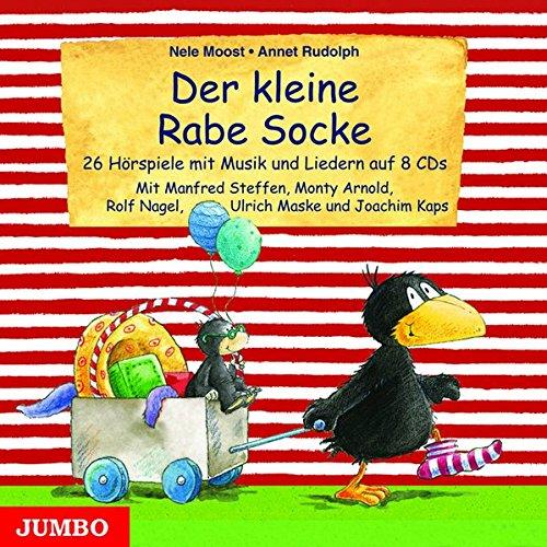 9783833727634: Der kleine Rabe Socke: 26 Hörspiele mit Musik und Liedern auf 8 CDs