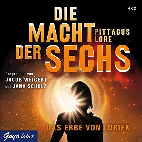 Lore, P: Macht der Sechs/4 CDs - Lore, Pittacus
