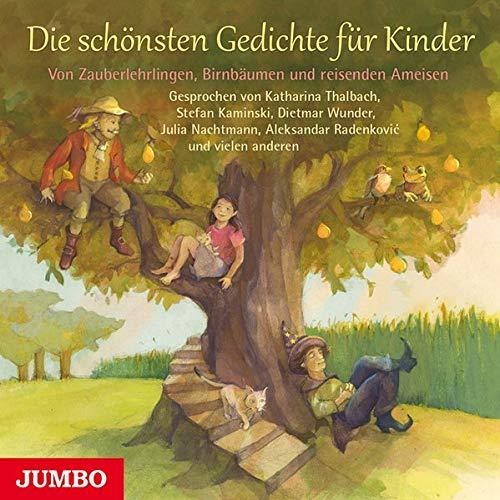 9783833731921: Die schönsten Gedichte für Kinder: Von Zauberlehrlingen, Birnbäumen und reisenden Ameisen