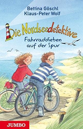 Die Nordseedetektive [4] : Fahrraddieben auf der: Klaus-Peter Wolf