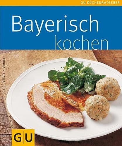 9783833803024: Bayerische Küche