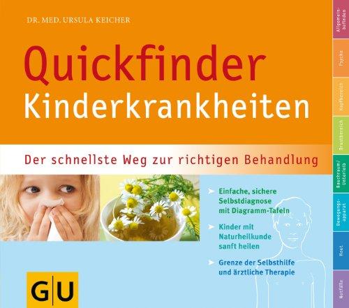 9783833807480: Quickfinder Kinderkrankheiten