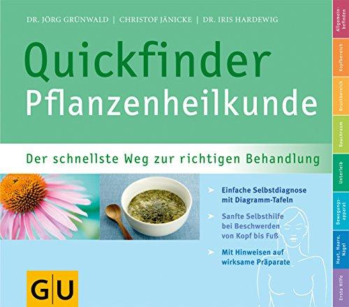 9783833810305: Quickfinder Pflanzenheilkunde: Der schnellste Weg zur richtigen Behandlung