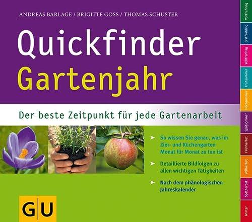 9783833816123: Quickfinder Gartenjahr