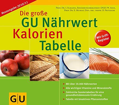 9783833816642: Die grosse GU Naehrwert-Kalori