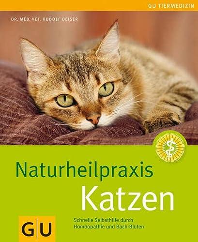 9783833821035: Naturheilpraxis Katzen: Schnelle Selbsthilfe durch Homöopathie und Bach-Blüten
