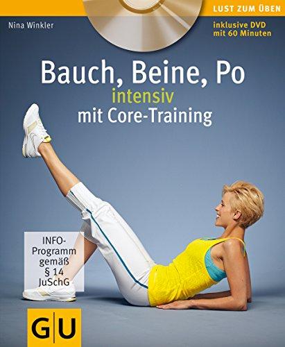 9783833821189: Bauch, Beine, Po intensiv mit Core-Training
