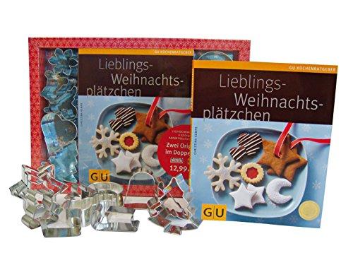 9783833821325: Lieblings-Weihnachtsplätzchen - Das Set: Mit 12 Original Kaiser Ausstechförmchen