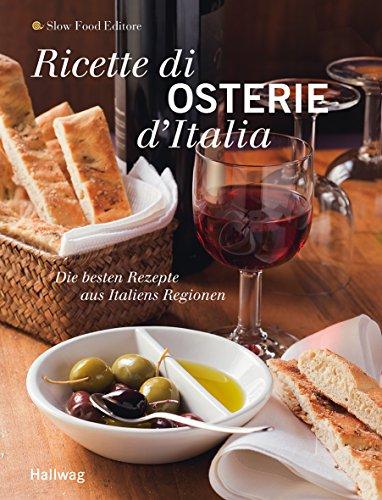 9783833821370: Ricette di Osterie d'Italia