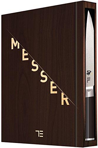 TEUBNER Messer Limited Edition - inkl. hochwertigem Damastmesser von kai mit Sonderprägung.: ...
