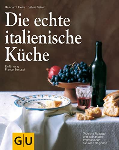 9783833860744: Die echte italienische Küche