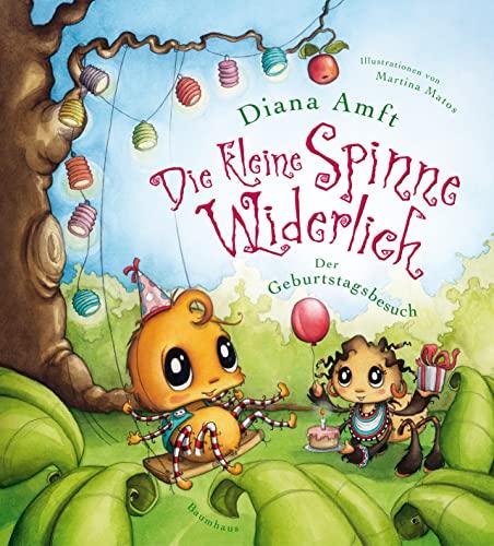 9783833900846: Die kleine Spinne Widerlich - Der Geburtstagsbesuch