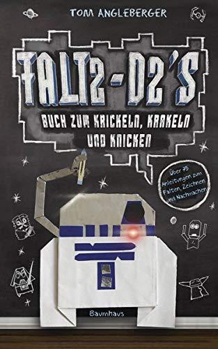 9783833902505: Falt2-D2s Buch zum Krickeln, Krakeln und Knicken: Ein Origami-Yoda-Kritzelbuch