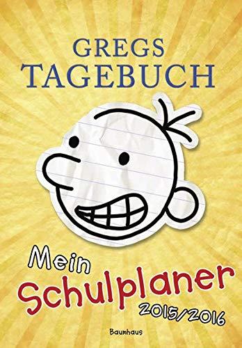 9783833958526: Gregs Tagebuch - Mein Schulplaner 2015/2016