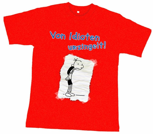 9783833958540: Greg T-Shirt Idioten 140