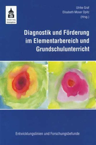 9783834002150: Diagnostik und F+�-�rderung im Elementarbereich un