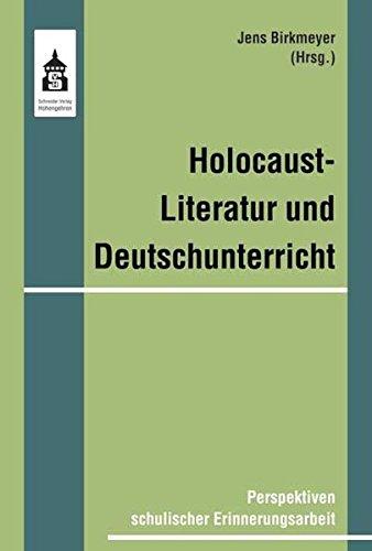 9783834003034: Holocaustliteratur und Deutschunterricht