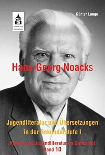 9783834006097: Hans-Georg Noacks Jugendliteratur und Übersetzungen in der Sekundarstufe I