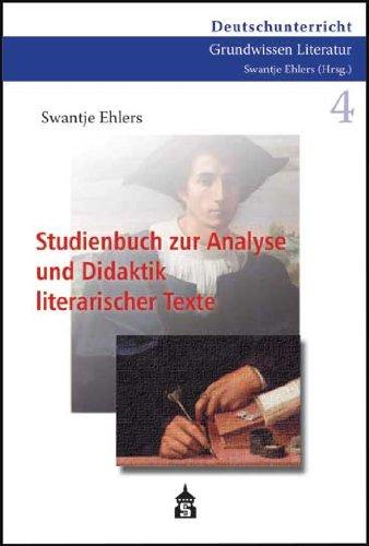 9783834006714: Studienbuch zur Analyse und Didaktik literarischer Texte
