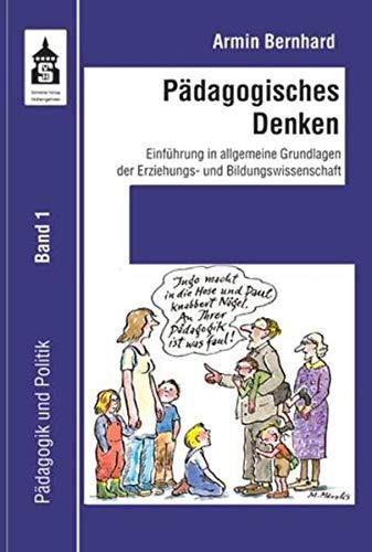 9783834016843: Pädagogisches Denken