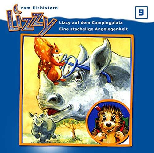 9783834100955: Lizzy 9 - Lizzy auf dem Campingplatz / Eine stachelige Angelegenheit, 1 Audio-CD