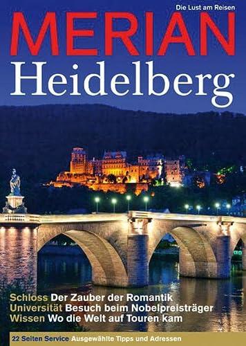 MERIAN Heidelberg; MERIAN Hefte; Hrsg. v. Jahreszeiten Verlag; Deutsch - Jahreszeiten Verlag