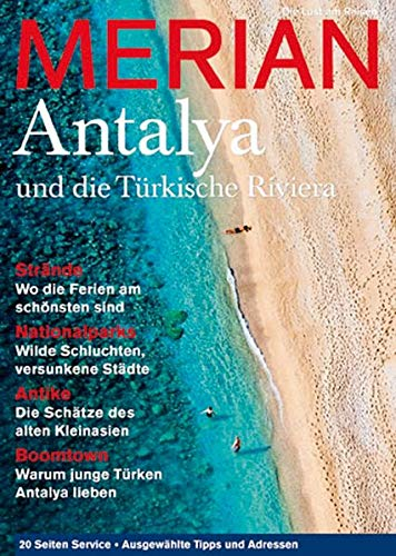 MERIAN Antalya und die türkische Riviera (Paperback)