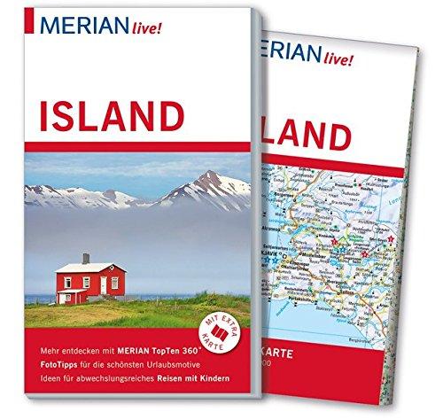 9783834219831: MERIAN live! Reiseführer Island: Mit Extra-Karte zum Herausnehmen