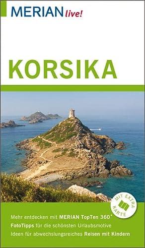9783834219886: Korsika: MERIAN live! - Mit Extra-Karte zum Herausnehmen