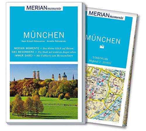 MERIAN momente Reiseführer München: Mit Extra-Karte zum: Rübesamen, Annette; Rübesamen,